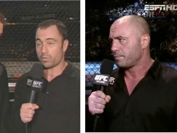 Joe Rogan Before and After